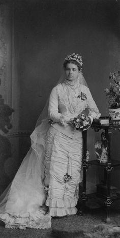 Wedding of Miriam Maria Pellatt and Henry Edmund Morphy, 1880