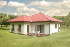 Bungalovy | ATRIUM, s.r.o. Atrium, House Plans, Exterior, Architecture, Outdoor Decor, Home Decor, Cottage, Large Sheds, Houses