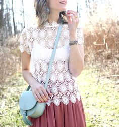 SCALLOPED LACE Penny Pincher Fashion waysify