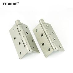 Stainless steel spring door hinges