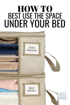 Linen Closet Storage Tips: How To Make More Space Is your linen closet storage packed with bedding, bath towels and more? You need these 5 easy organizing tips to win and create a clean closet. Best Closet Organization, Closet Storage, Bathroom Organization, Bedroom Storage, Organization Hacks, Organizing Tips, Clothing Organization, Bed Storage, Organising