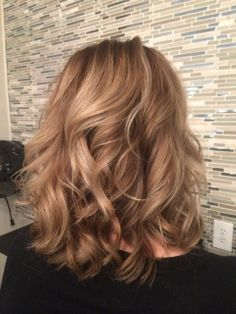 Hair by Deona. Positive Outlook On Life, Blonde Highlights, Cut And Color, Love Her, Salons, Curls, Long Hair Styles, Beautiful, Beauty