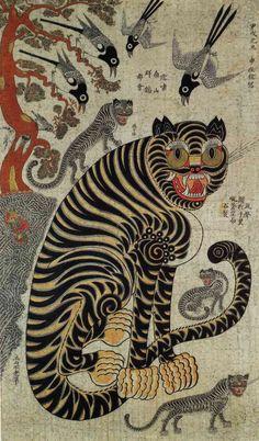 李朝猫虎6