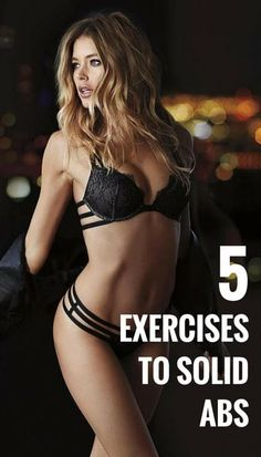 5 Exercises To Solid Abs