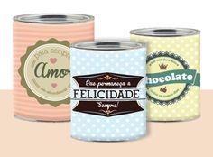 Adorei: Rótulos retrô para reaproveitar suas latas! Fonte: http://www.acasaqueaminhavoqueria.com/download-rotulos-retro-para-reaproveitar-suas-latas/