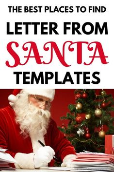 Tons of fun and unique letter from Santa ideas for kids this Christmas. Get in the holiday spirit and surprise your children with a letter from Santa that lets them know they made the nice list! Decor Style Home Decor Style Decor Tips Maintenance Christmas Letter From Santa, Free Letters From Santa, Personalized Letters From Santa, Santa Letter Template, Santa Letter Printable, Meaning Of Christmas, Christmas On A Budget, Christmas Gift Guide, Kids Christmas