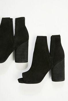 1e526c78dab Black Booties  20+ Really Pretty Women s Ankle Boots. Black Peep Toe HeelsBlack  ...