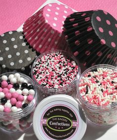 $14.95 by thebakersconfections on Etsy - #handmade #food #sweets #cupcakes #pink #sprinkles