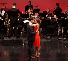 Santino Fontana and Laura Osnes in The Music Man in Concert