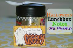 How cute are these free printable notes!  My kids will love seeing them in their lunch boxes!!