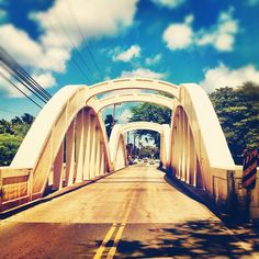haleiwa bridge...haleiwa, hawaii...quite blessed to be able to say I have seen it and crossed it in person.