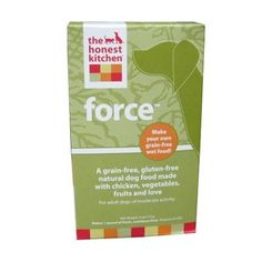 Honest Kitchen Force, Grain-Free Dehydrated Raw Dog Food w/ Chicken, 4oz « dogsiteworld.com