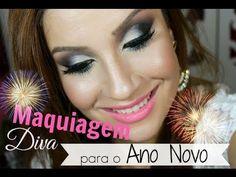Maquiagem DIVA para o ano novo! #ArrasaGostosa - Por Bianca Andrade.