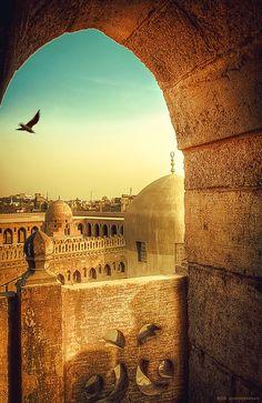 Ibn Tulun Mosque, Cairo, Egypt.