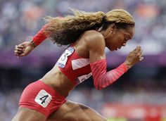 United States' Sanya Richards-Ross competes in a women's 400-meter semifinal Olympic Sports, Olympic Athletes, Olympic Games, Nbc Olympics, 2012 Summer Olympics, Sanya Richards, Female Athletes, Women Athletes, Team Usa