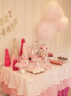 Pink Nutcracker Party