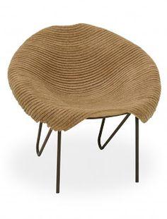 Craft paper chair - Designer: Domingos Tótora