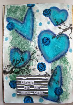 Art Journal - Love is in the Air by Re Pacheco, via Flickr