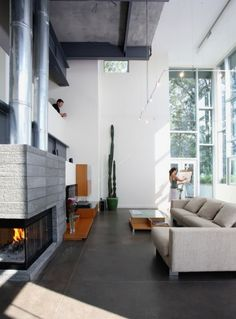 modern & industrial.  i want my next house to look identical to this!
