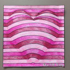 Image gallery – Page 75646468726396996 – Artofit Op Art Lessons, Art Lessons Elementary, Illusion Kunst, Illusion Art, Arte Elemental, Valentines Art, Elements Of Art, Art Classroom, Heart Art