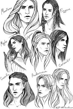 Feanorians and Fingon by Mairon Gorthaur  https://www.flickr.com/photos/theroiz/