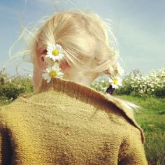 Grandmother used to place flowers in our hair when we (sisters and me) were little