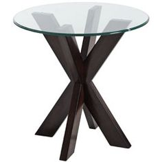 Love this end table for the living room. Simon X End Table Base. $79.95 at Pier 1.