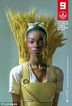 District 9: Grain in The Hunger Games: Mockingjay - Part 1