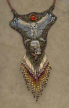 Heidi Kummli....fabulous beadwork...visit her website for more beautiful jewelry