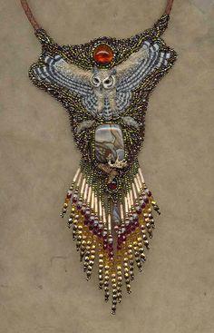 Heidi Kummli....fabulous beadwork...visit her website for more beautiful jewelry