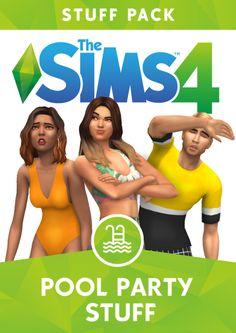 The sims pool party stuff by greenllamas Sims Mods, Sims 4 Game Mods, Packs The Sims 4, Sims 4 Game Packs, Maxis, Sims 4 Traits, Sims 4 Toddler, Sims Baby, Sims4 Clothes