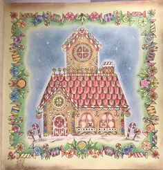 Gingerbread House ... Book : Johnna's Christmas