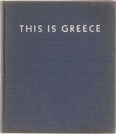 This is Greece - Vintage Travel Photography Book - 1941 - $10.00