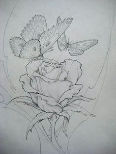 Flower Drawing Free Jody Bergsma Coloring Pages - Bing images - Free Jody Bergsma Coloring Pages - Bing images Line Drawing, Drawing Sketches, Art Drawings, Flower Drawings, Butterfly Drawing, Pencil Drawings, Drawing Ideas, Coloring Book Pages, Painting Patterns