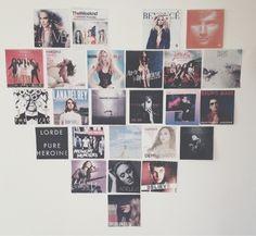 Favorite album cover wall-art | Apartment | Pinterest | Album