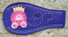 Eye Patch  Princess Carriage  2 options by PatchMe on Etsy