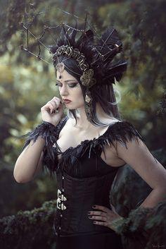 Up Halloween, Halloween Dress, Witch Wedding, Gothic Images, Goth Model, Fantasy Art Women, Gothic Dolls, Fantasy Photography, Steampunk Costume