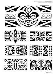 32 Best Maori Armband Tattoo Template Images Polynesian Tattoos