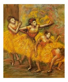 Waiting by Edgar Degas Print from Truly Art.