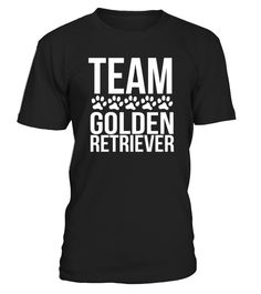 Team Golden Retriever - Crewneck Sweatshirt  Funny Golden Retriever T-shirt, Best Golden Retriever T-shirt