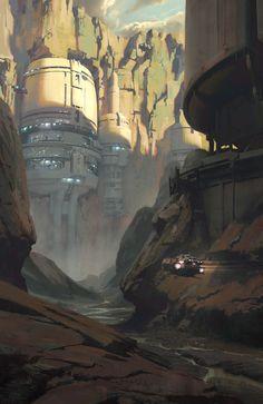 ArtStation - Brigands Canyon, Jedd Chevrier