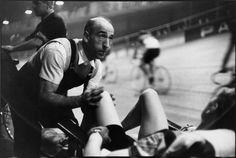 Henri Cartier-Bresson - Paris. 1957. Vélodrome d'Hiver. Six-day races.