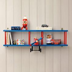 Bi-Plane Wall Shelf