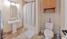 Bathroom at Ashton Lane II Luxury Apartments in Gainesville, FL
