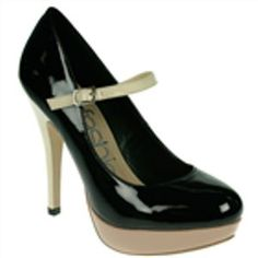 These Mary Jane platforms pumps and pretty provocative, huh?