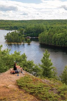Bon Echo Provincial Park in Cloyne, Ontario, Canada is the perfect nature getaway from the city. For those that are looking for a relaxing vacation or an active one, Bon Echo is able to cater to both types of visitors.: