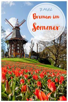 Damit ihr den Bremer Sommer intensiv genießen könnt, verraten wir euch unsere sieben Höhepunkte. Parks, Travel, Seasons Of The Year, Destinations, Germany, Vacation, Summer Recipes, Viajes, Trips