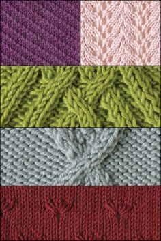 In this FREE knitting stitches guide, you'll find 13 beginner to intermediate techniques that you can incorporate into your knitting projects!  #knitting #knittingstitches