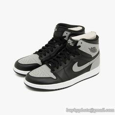 27688f8a979 Men's Air Jordan 1 AJ1 Jordan 1 Retro 1 Retro High OG Shadow Basketball  Shoes Gray