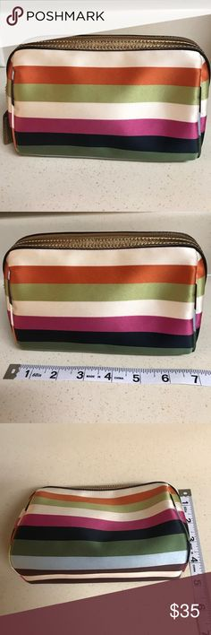 Coach Cosmetic Bag Price is Firm Pre-Owned Coach Cosmetic Bag Excellent Condition No Stains Coach Bags Cosmetic Bags & Cases